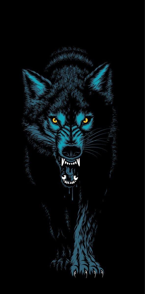 Primitive Clothing Brand Primitive Clothing Wallpaper Primitive Wolf Artwork Wolf Wallpaper Animal Wallpaper