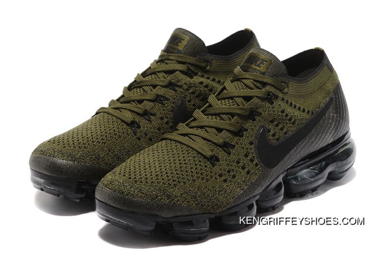 Nike Air VaporMax Flyknit 2018 2018 Olive Green in 2019