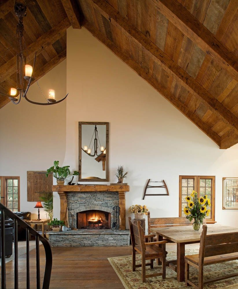 Planking Interior Siding Corbels, Diy fireplace mantel