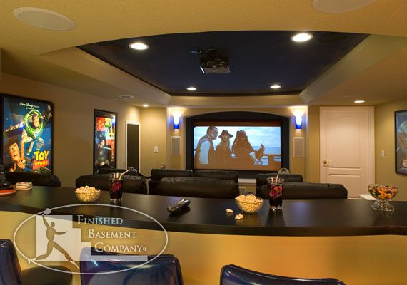 Finished Basement Company Boyd Lake Basement Denver CO - The basement company
