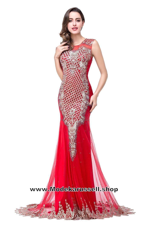 Gala Abendkleid 2017 Online Rot Arabella   Abendkleider günstig 2017 ...