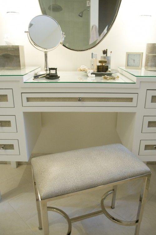Houzz Tour Neo Traditional Style In Georgetown Custom Bathroom Vanity Vanity Design Vanity Table