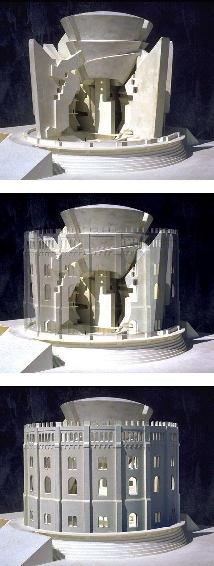 eric owen moss lia inar model pinterest architecture models