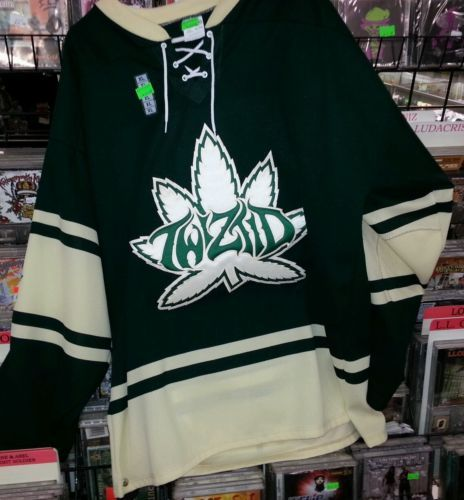 7858dd3fae4 Twiztid new weed pot jersey 420 ICP House of krazees rare xl icp ULTRA RARE  OOP