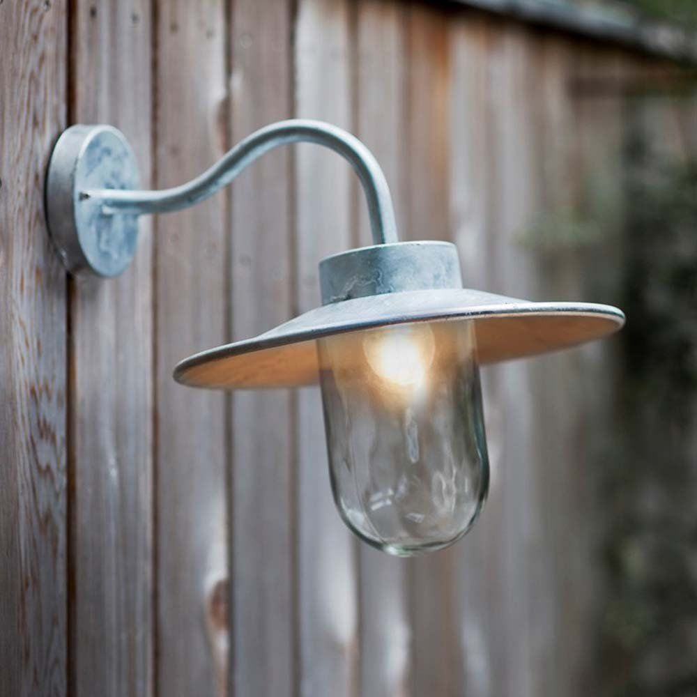 Swan neck outdoor lighting galvanised home patio pinterest swan neck outdoor lighting galvanised aloadofball Choice Image