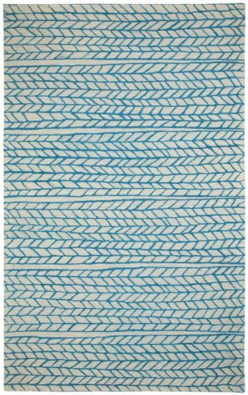 The Spear Rug in Beige Blue from Capel Rugs has a modern style popping with fun colors! This stylish rug features an arrow pattern and will look great in any room