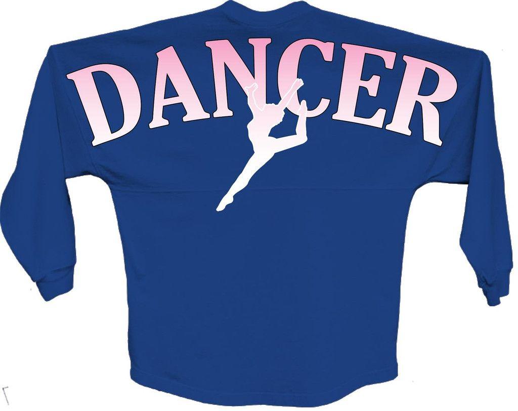 Dancer Pink pom print J america women Long sleeve shirt Front and back Game Day Jersey pink pom print  Rounded bottom waist Oversized cut #pom #dancer #jersey #longsleeve #gameday