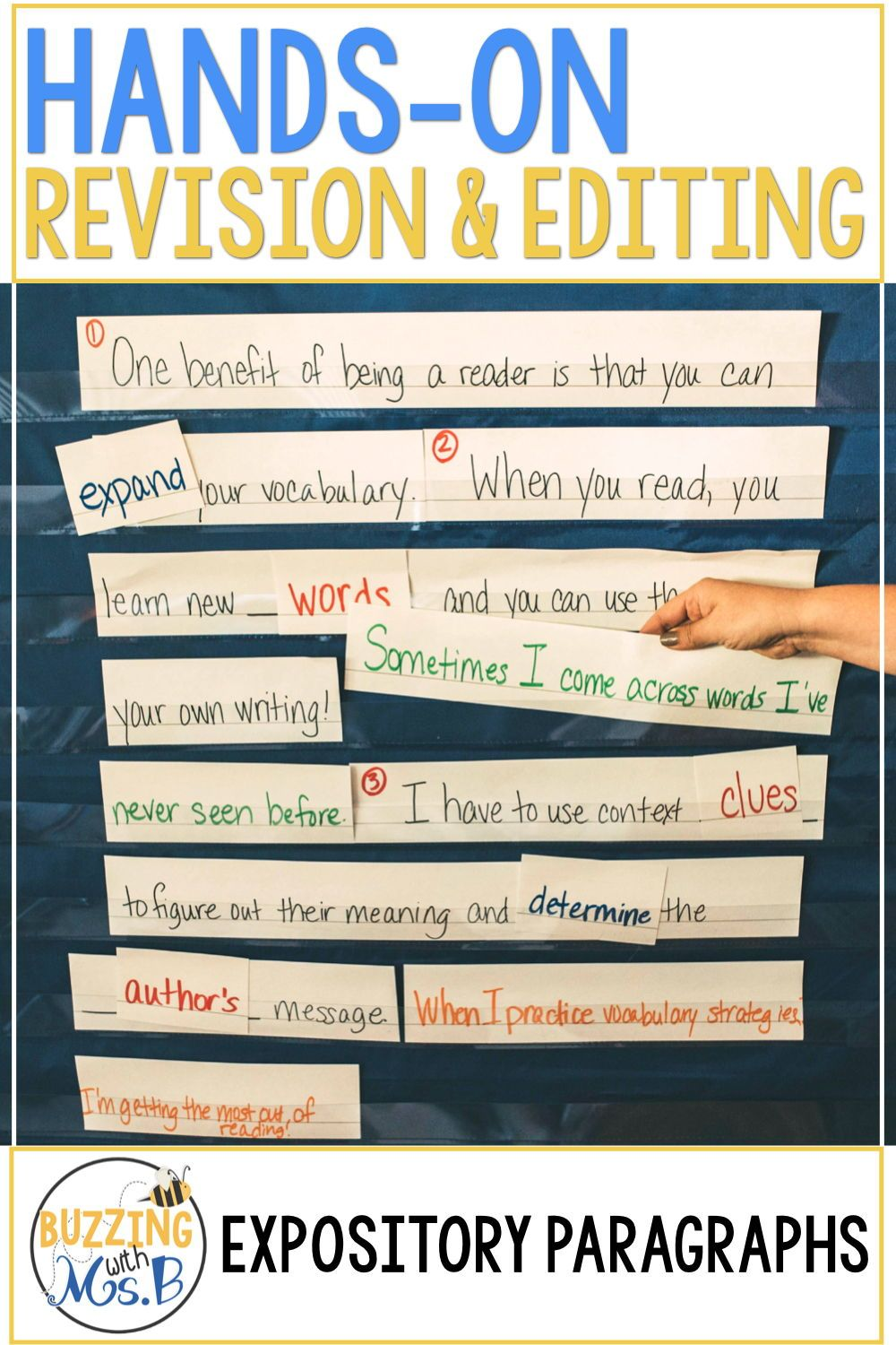 These Hands On Activities For Revising And Editing Are Better Than An Anchor Chart Or A Worksheet Teach St Teaching Writing Expository Writing Writing Lessons [ 1500 x 1000 Pixel ]