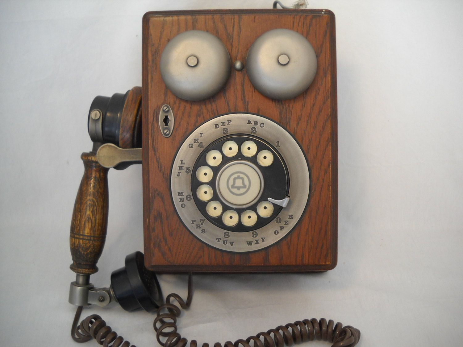 Vintage Telephone Wiring Furthermore Antique Hand Crank Wall ... on