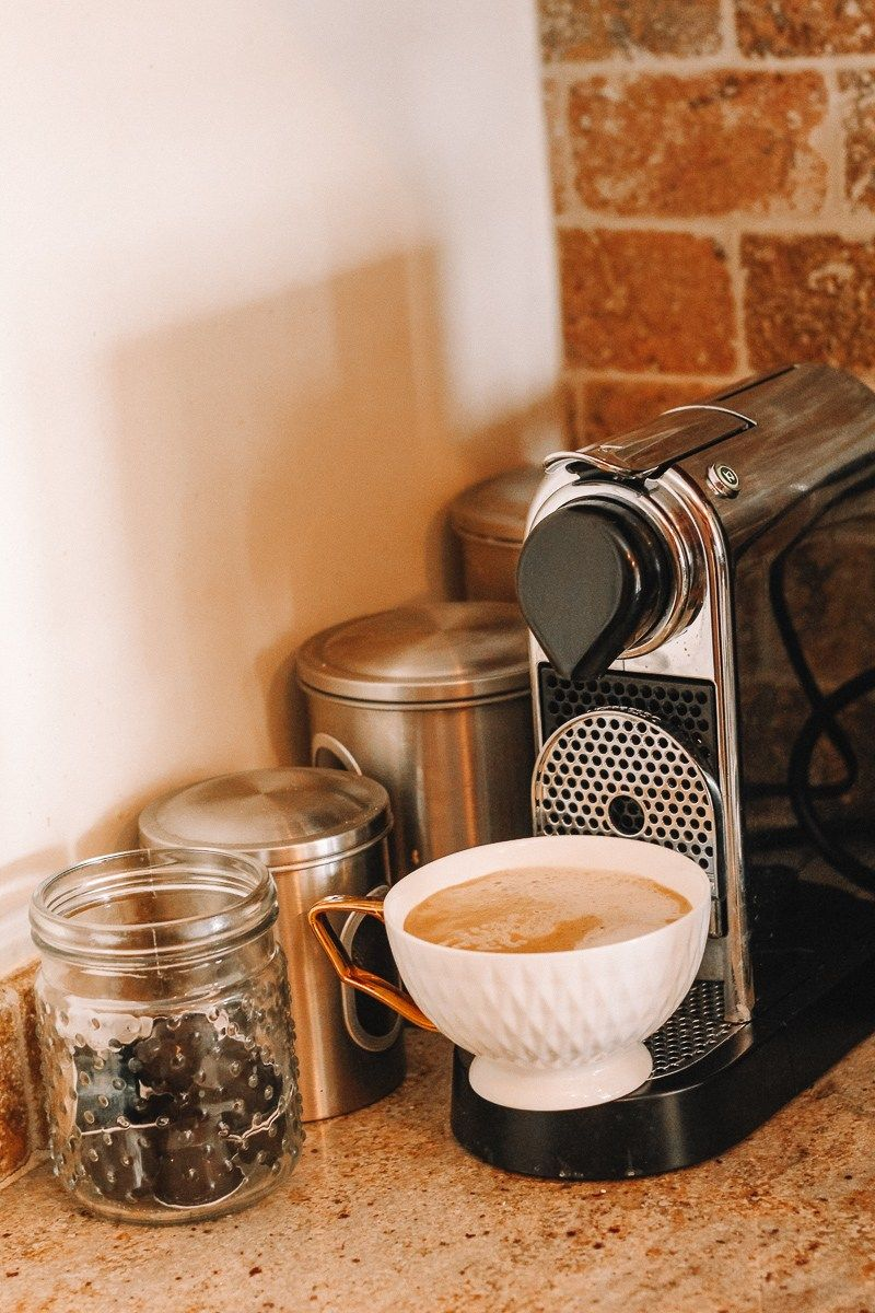 How to make a nespresso latte at home save yourself