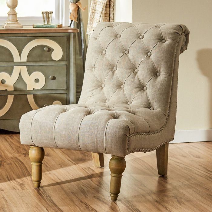 Versailles Slipper Chair Seating Accent Chairs Living Room