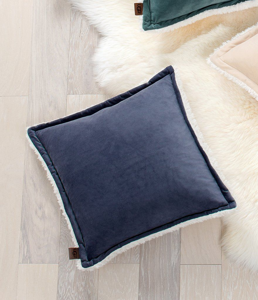 Bliss sherpa square pillow square pillow pillows uggs