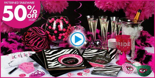 Bachelorette Party Supplies, Decorations & Favors - Party City
