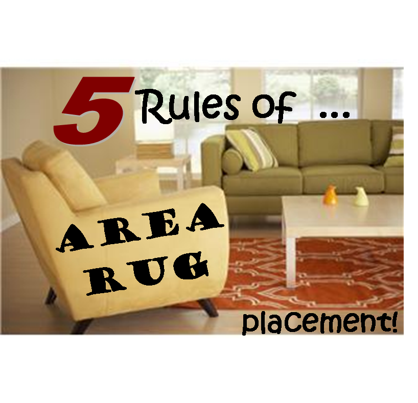 5 rules of area rug placement home decor pinterest