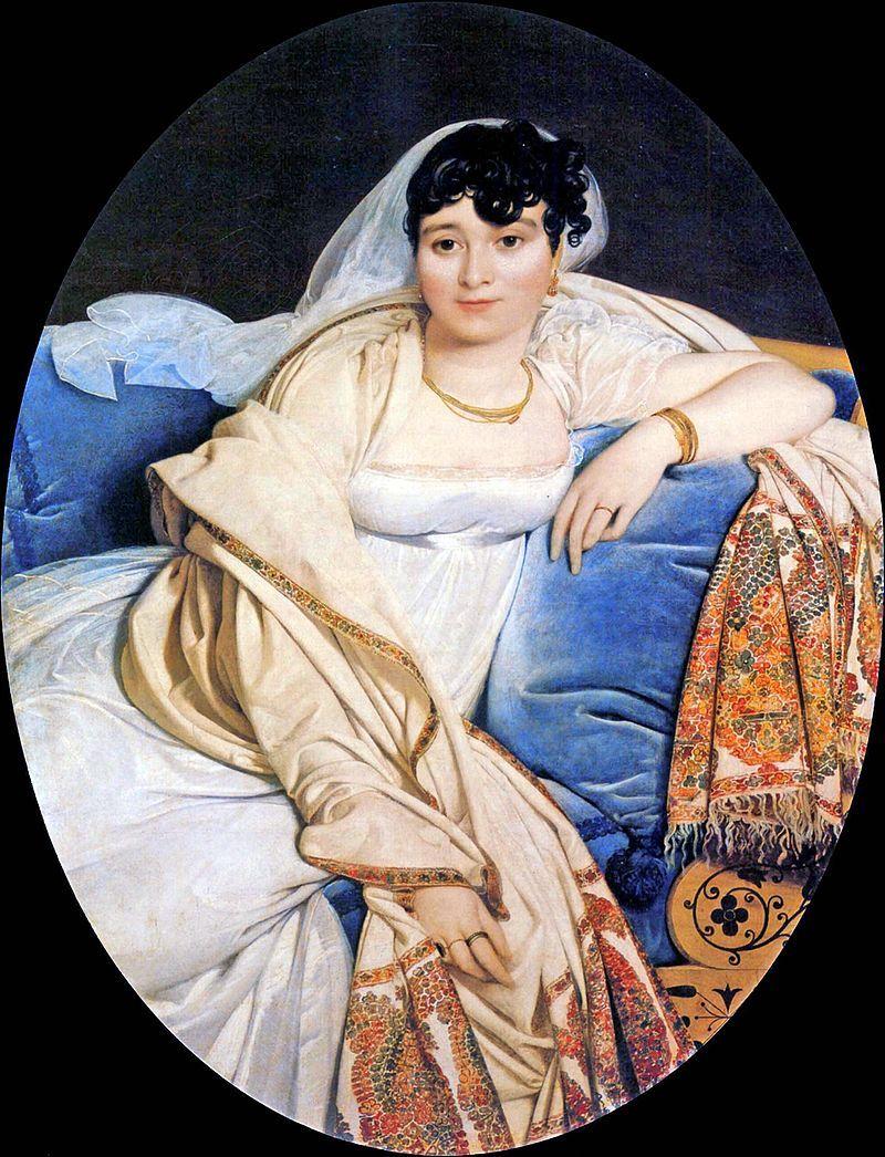 Jean Auguste Dominique Ingres Madame Rivière 180506 Oil On