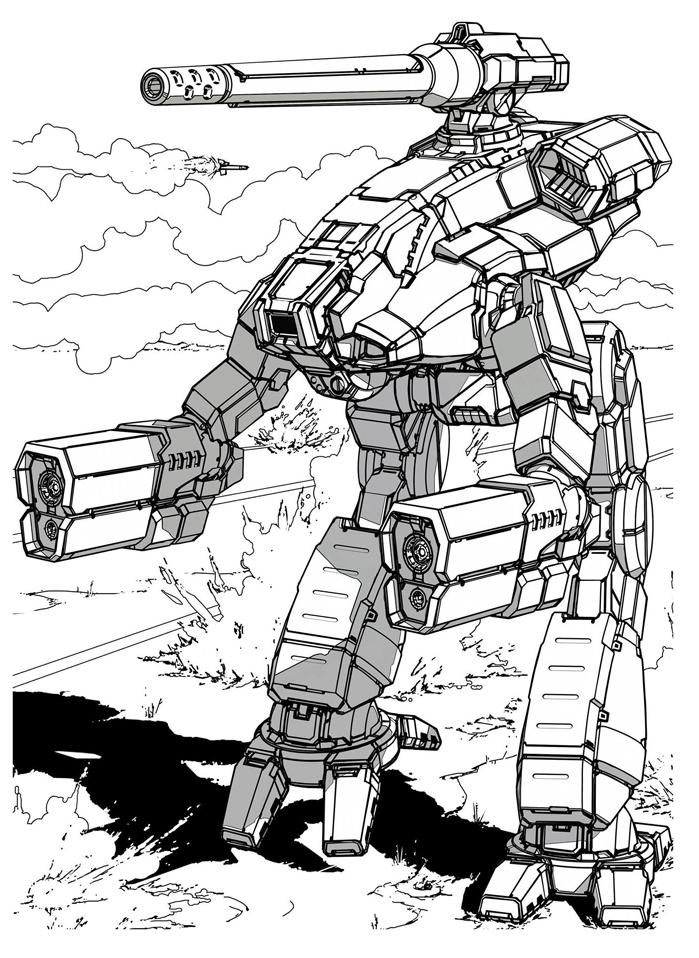 3025 Marauder Classics Png 699 958 Cool Robots Mech Robot Concept Art