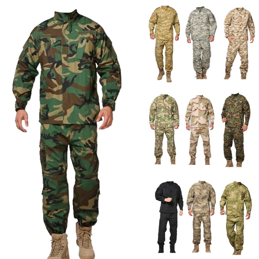 Military ACU woodland camo Uniform,army combat uniform ... - photo#11