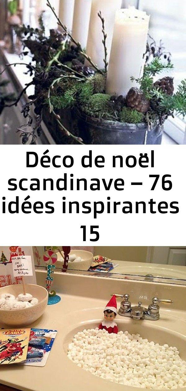 Déco de noël scandinave – 76 idées inspirantes 15 #déconoelfaitmain