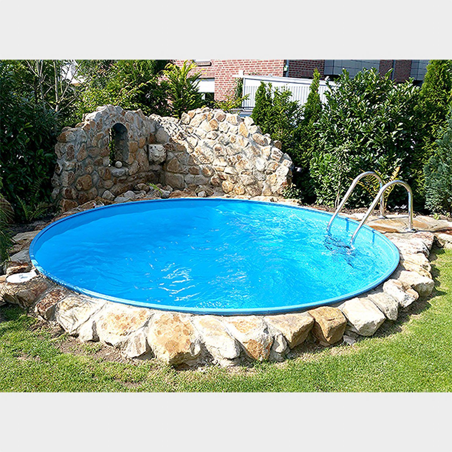 Mediterraner Pool Von Homify Pool Gartenbau Kleiner Pool Gartenpools