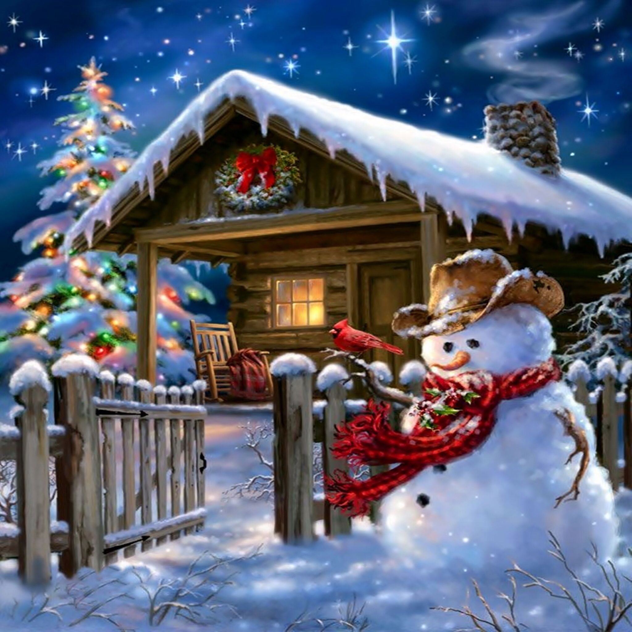 Check Out This Wallpaper For Your Ipad Http Zedge Net W10785841 Src Ios V 2 5 Via Zedge Christmas Pictures Country Christmas Christmas Art