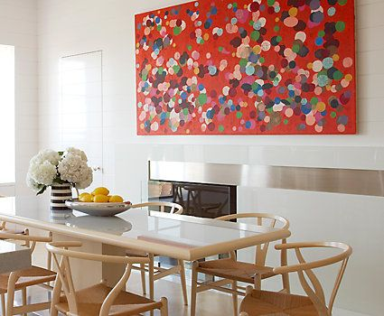 How To Hang Pictures Match Art To Shape Of Walls