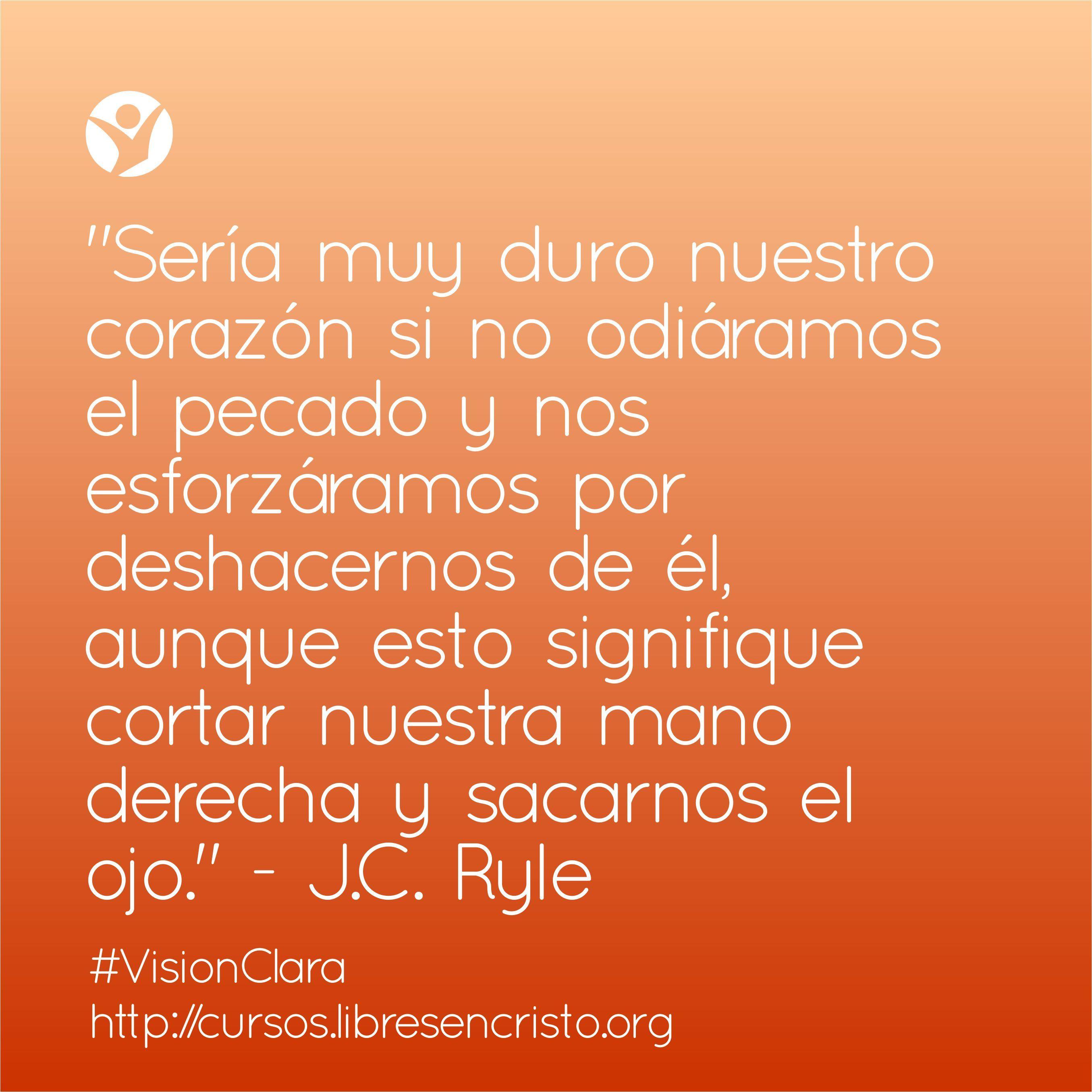 Inscríbete hoy en #VisionClara, nuestro curso para dejar el consumo de pornografía, en este enlace: bit.ly/Kn70Dm #Biblia #santidad #libertad #Dios #pecado #purezasexual #restauracion #corteradical