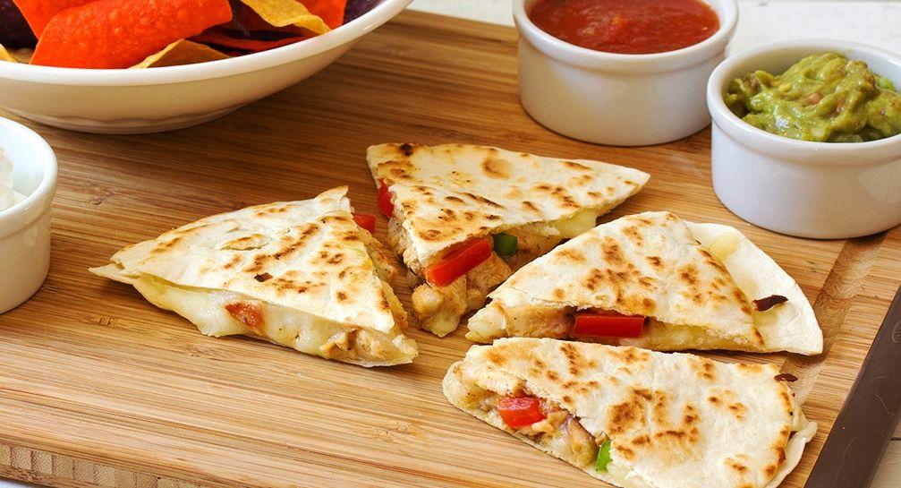 وصفة سهلة لعمل فاهيتا الفراخ ثقف نفسك Recipes Fajitas Quesadilla