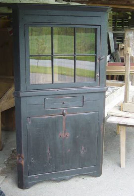 Custom Made West Chester Corner Cupboard Design Your Own Today - Chester furniture barn