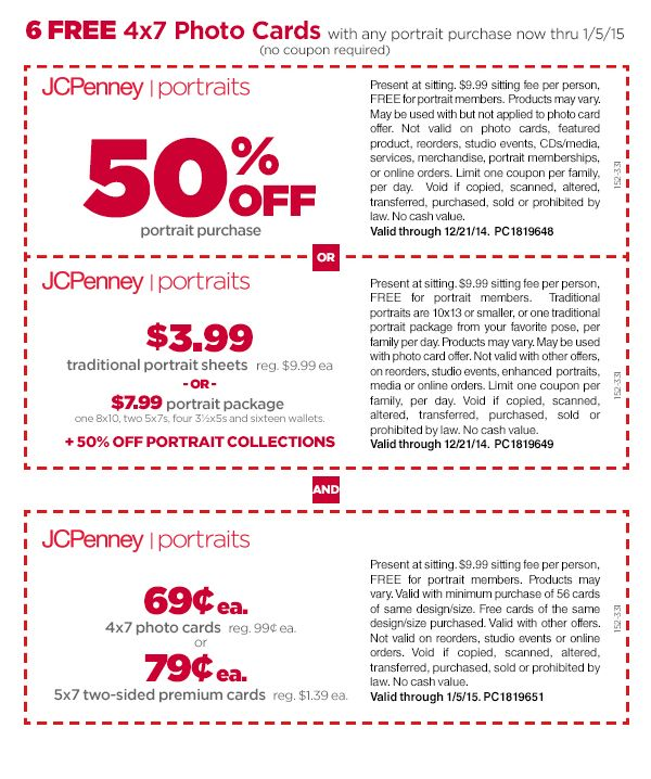 c5373bf55 Email Offer from JCPenney Portraits