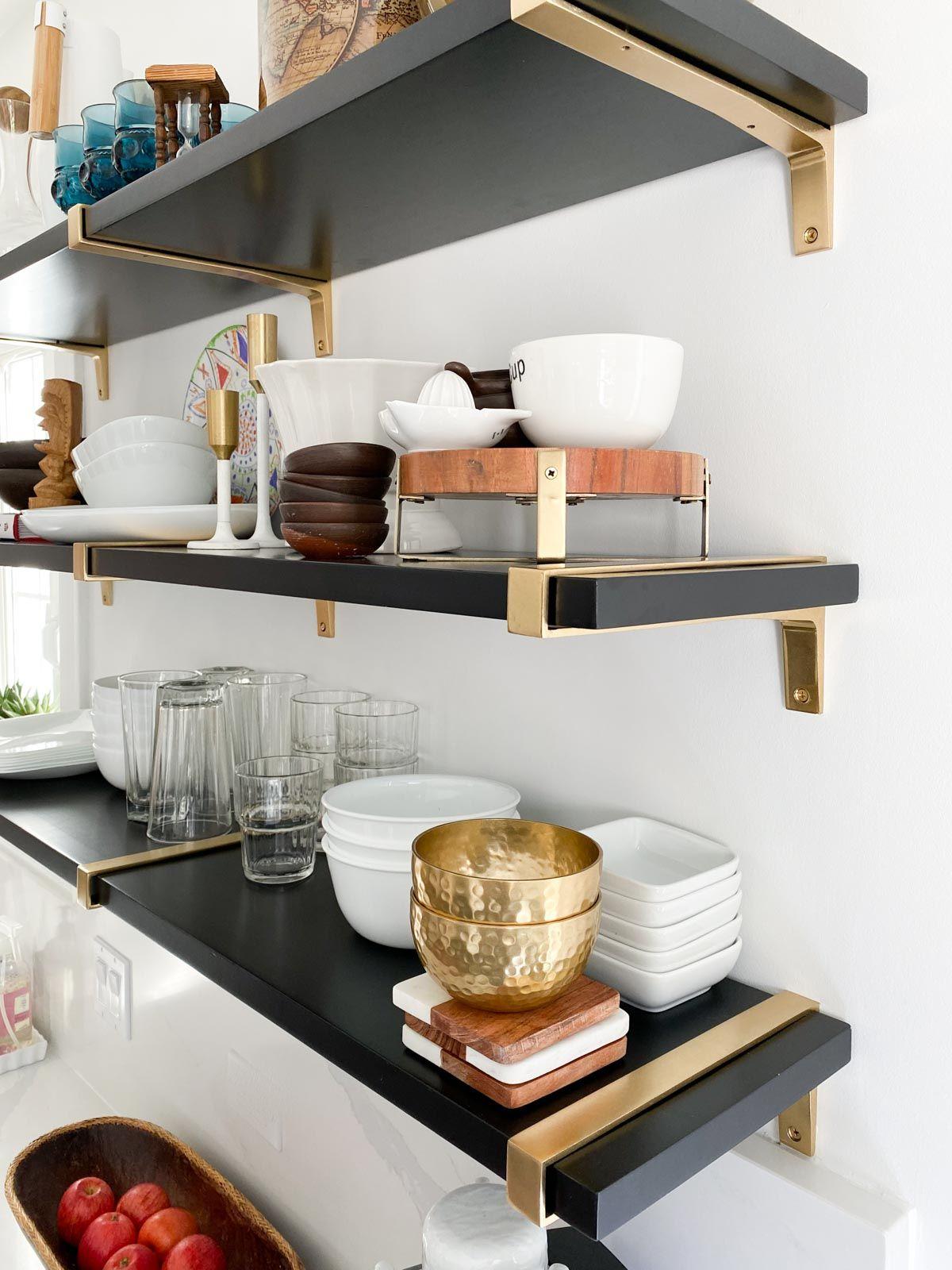 Dream Kitchen Tour Kitchen Shelves Styling Kitchen Design Open Cheap Living Room Decor