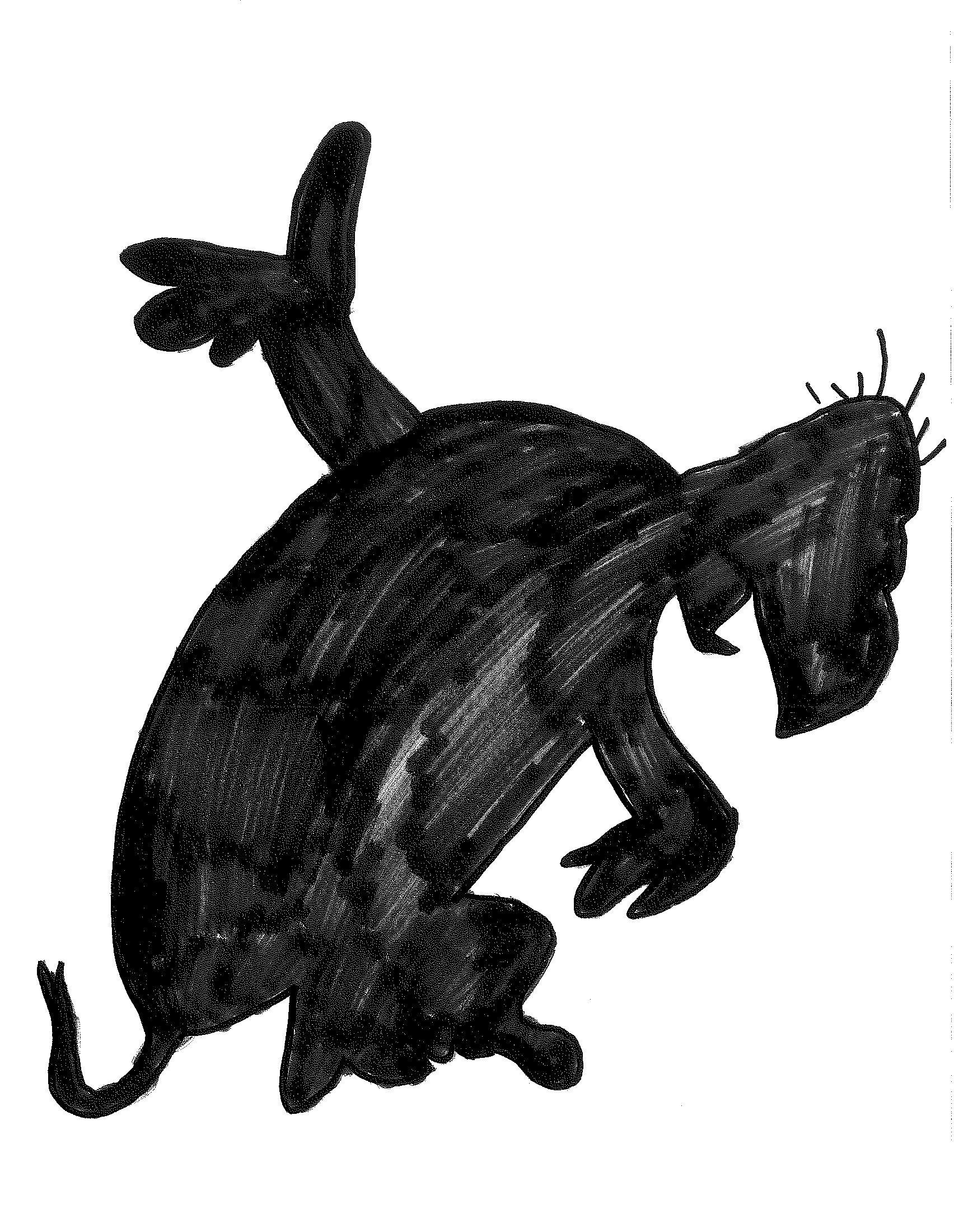 Yertle the Turtle Silhouette | Dr. Suess | Pinterest