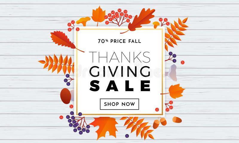 Thanksgiving Autumn Sale Text Poster For September Shopping Promo Thanksgiving Sponsored Advertisement Ad Autumn In 2020 Autumn Sales Thanksgiving Sale Autumn