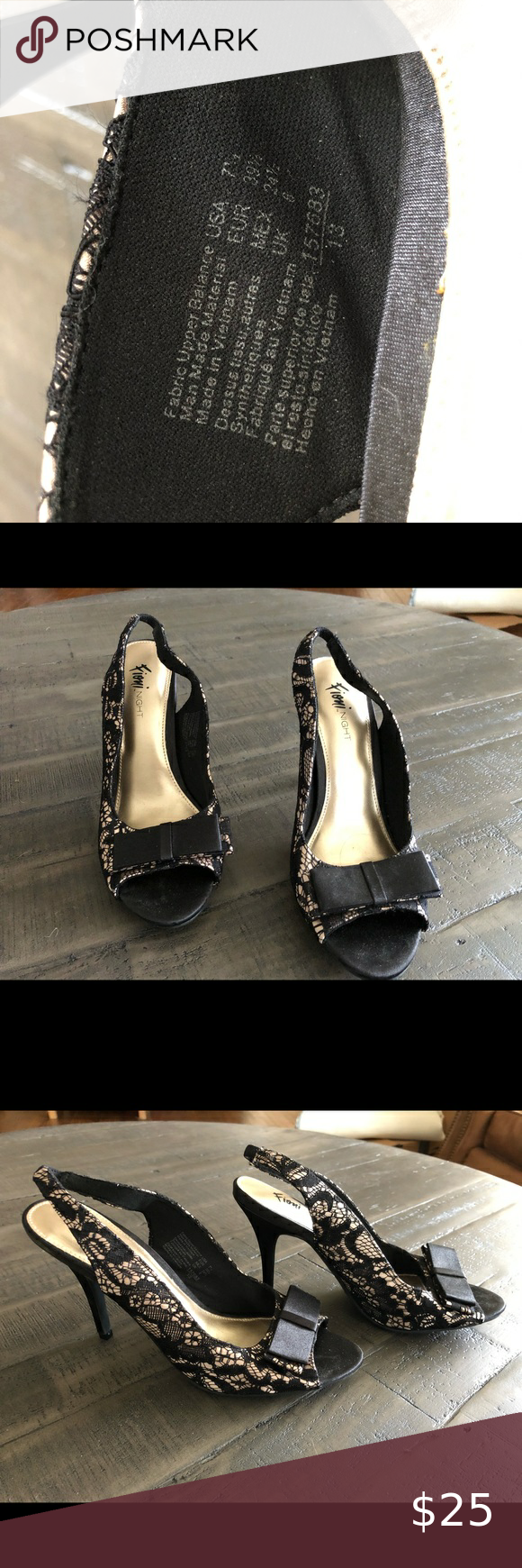 Black and gold heels in 2020 | Gold