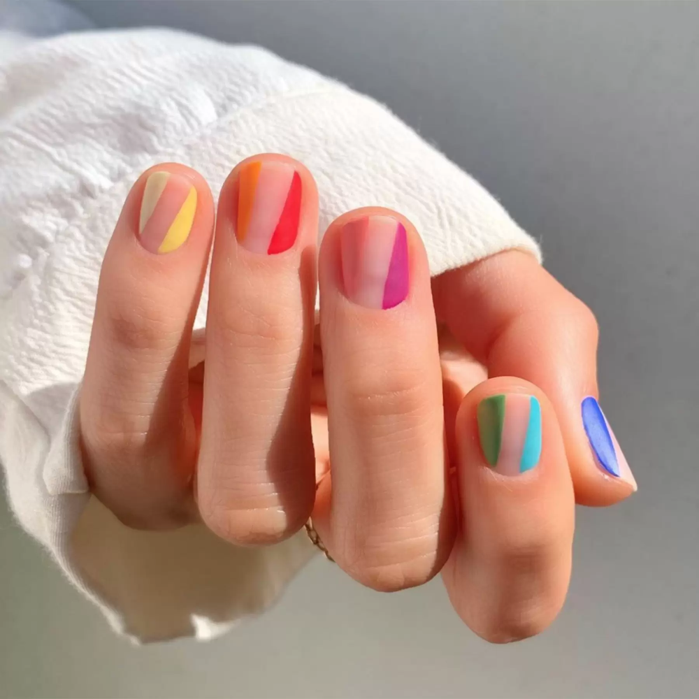 Shell nails are the prettiest act of escapism