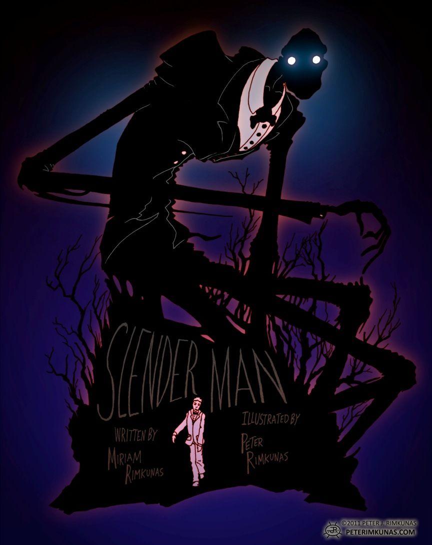Slender Man Poster by ptrink.deviantart.com