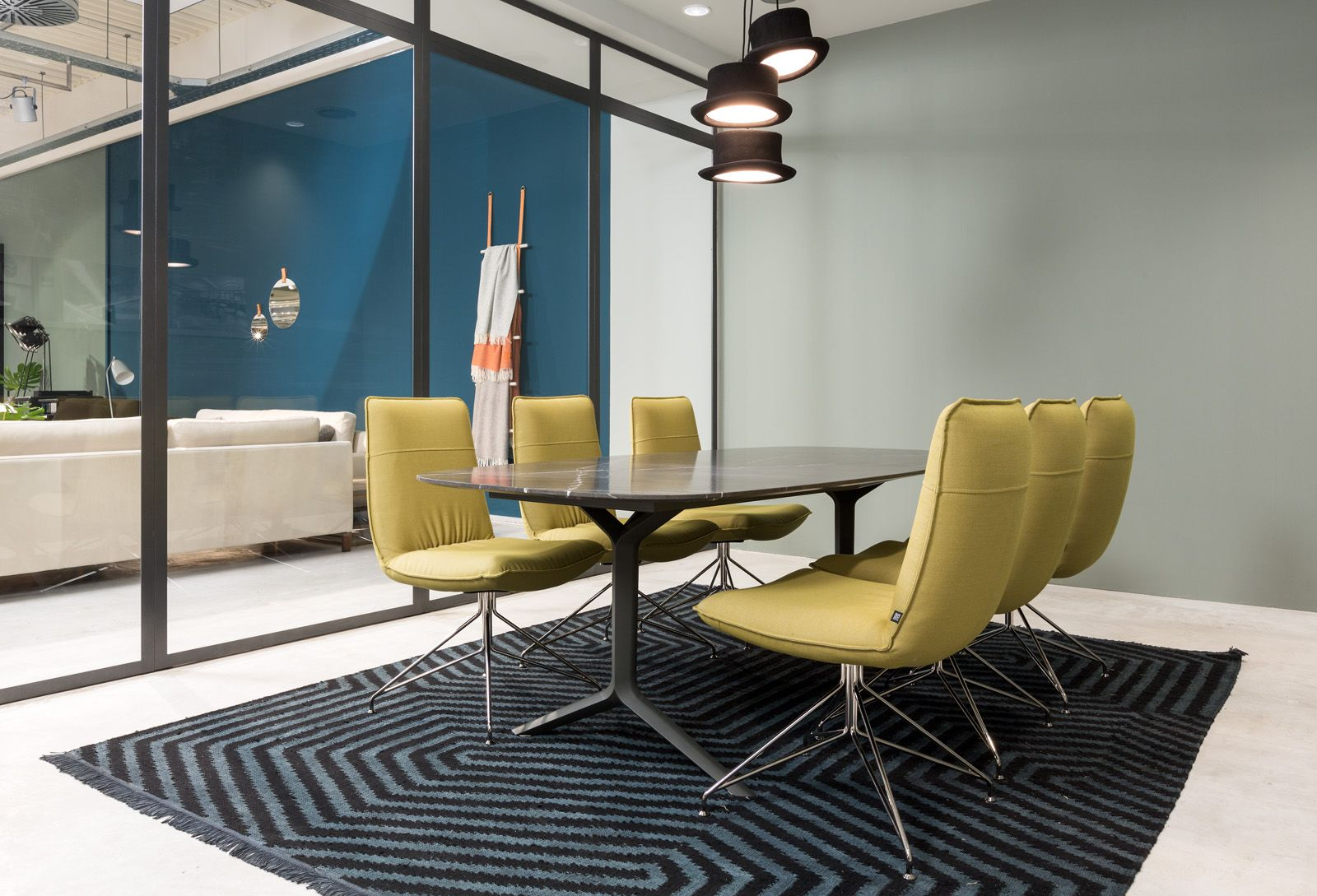 The Rolf Benz 966 is a timeless beauty in any dining room