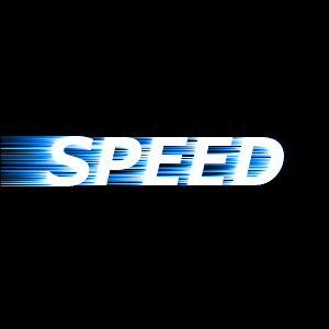 Speed Text Text Effects Photoshop Tutorial Text