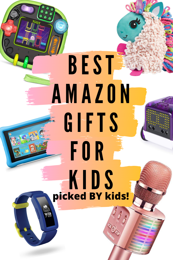 75 Best Amazon Christmas Gifts And Toys For Kids Picked By Kids Cool Gifts For Kids Amazon Christmas Gifts Best Amazon Gifts