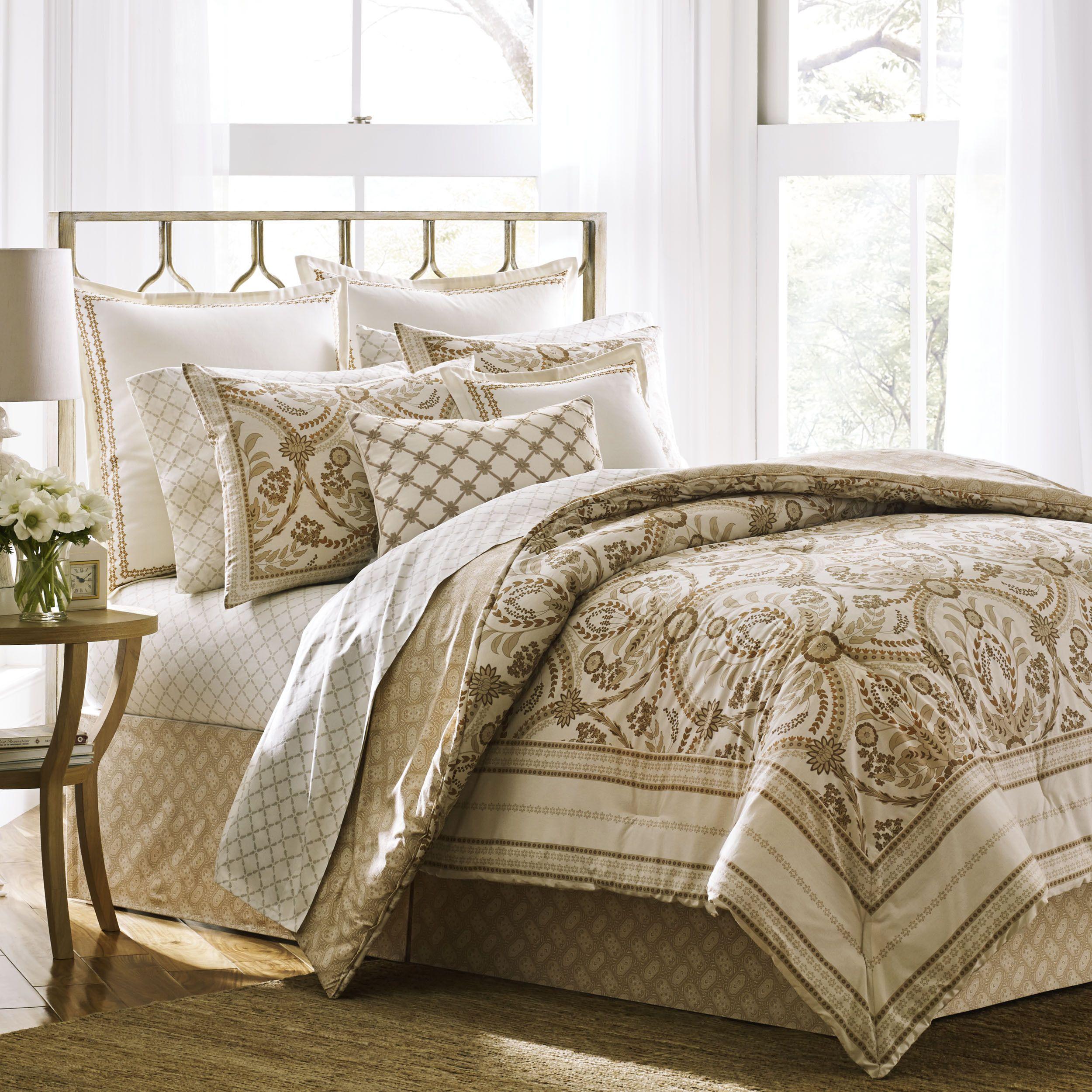Laura Ashley Almedia Comforter Set Bedding sets