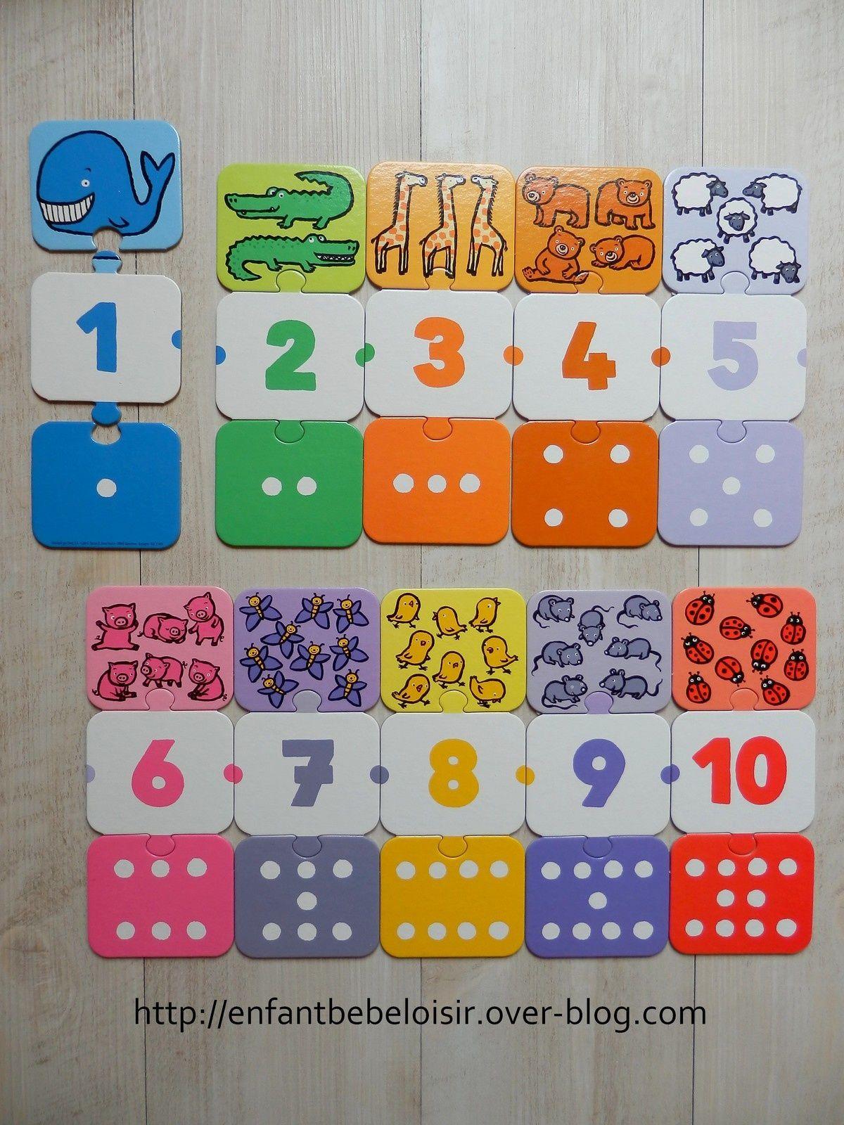 maternelle chiffres calcul Jeux de chiffres, Addition
