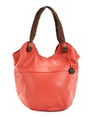 The Sak Handbag Leather Tote Melon I Just Bought This It S So Light Weight Love