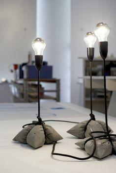 Supercoole Beton-Lampen-Idee! - #BetonLampenIdee #concrete #Supercoole #landscapelightingdesign