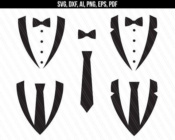 Tuxedo Svg Tuxedo Clipart Tuxedo Bow Necktie Svg
