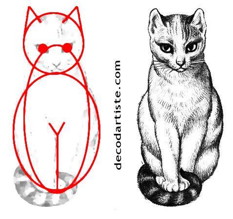 tuto dessiner un chat ma d 233 co d artiste tuto dessiner tuto et artistes