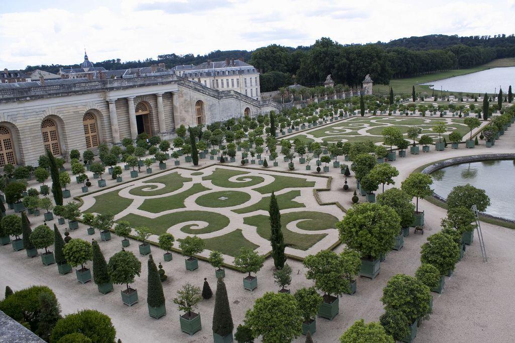 Garden Of Versailles France Francia Barroco