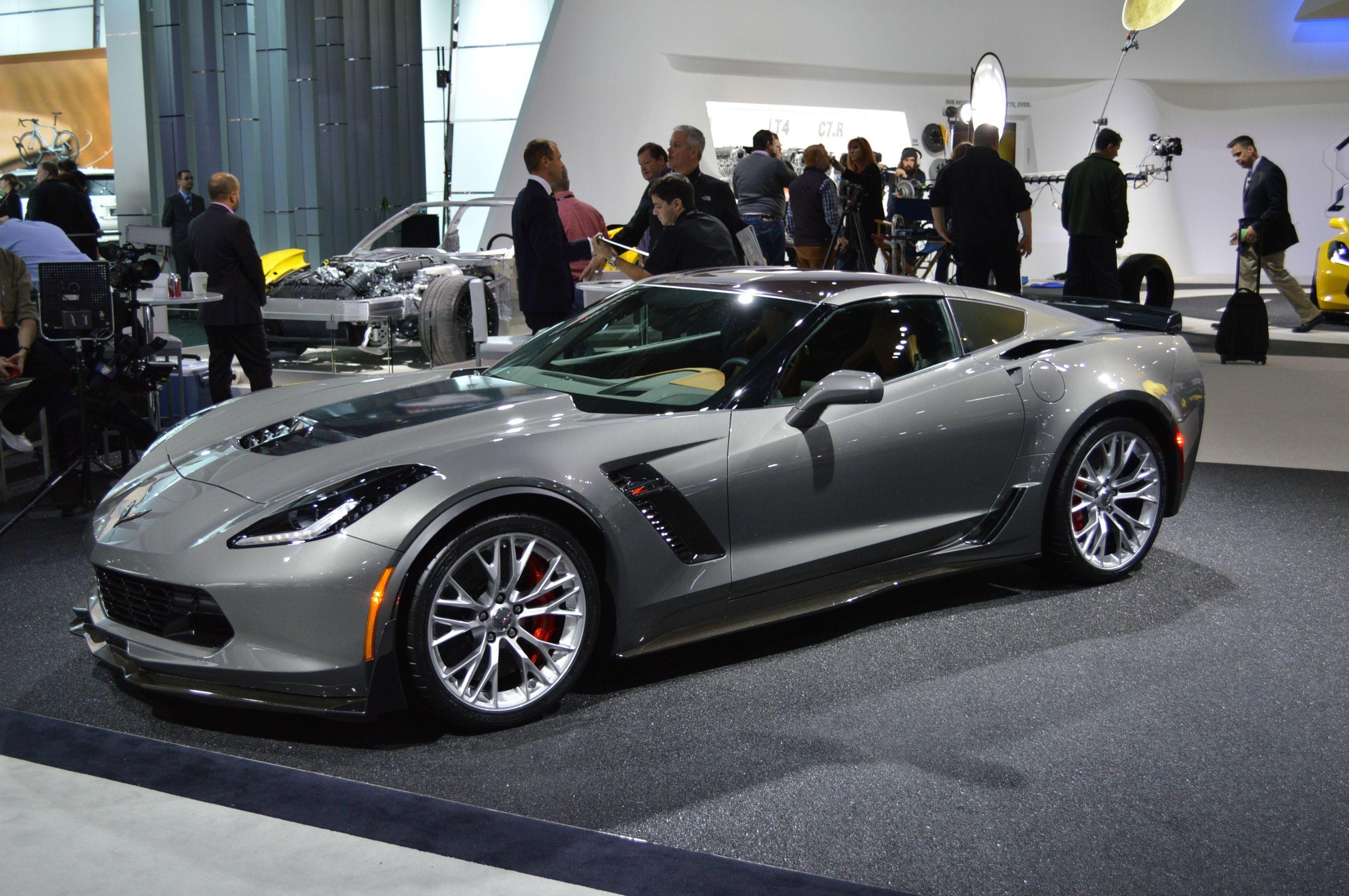2015 corvette c7 z06 in a not so boring grey