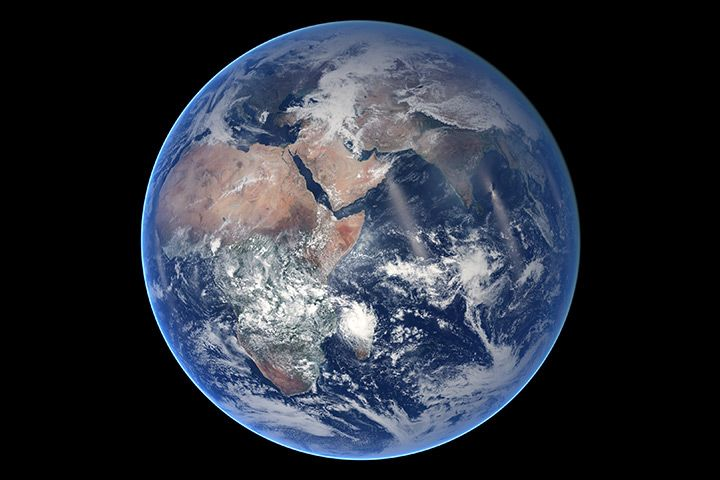 Blue Marble Eastern Hemisphere Image Of The Day Earth From Space Nasa Earth Earth Weather