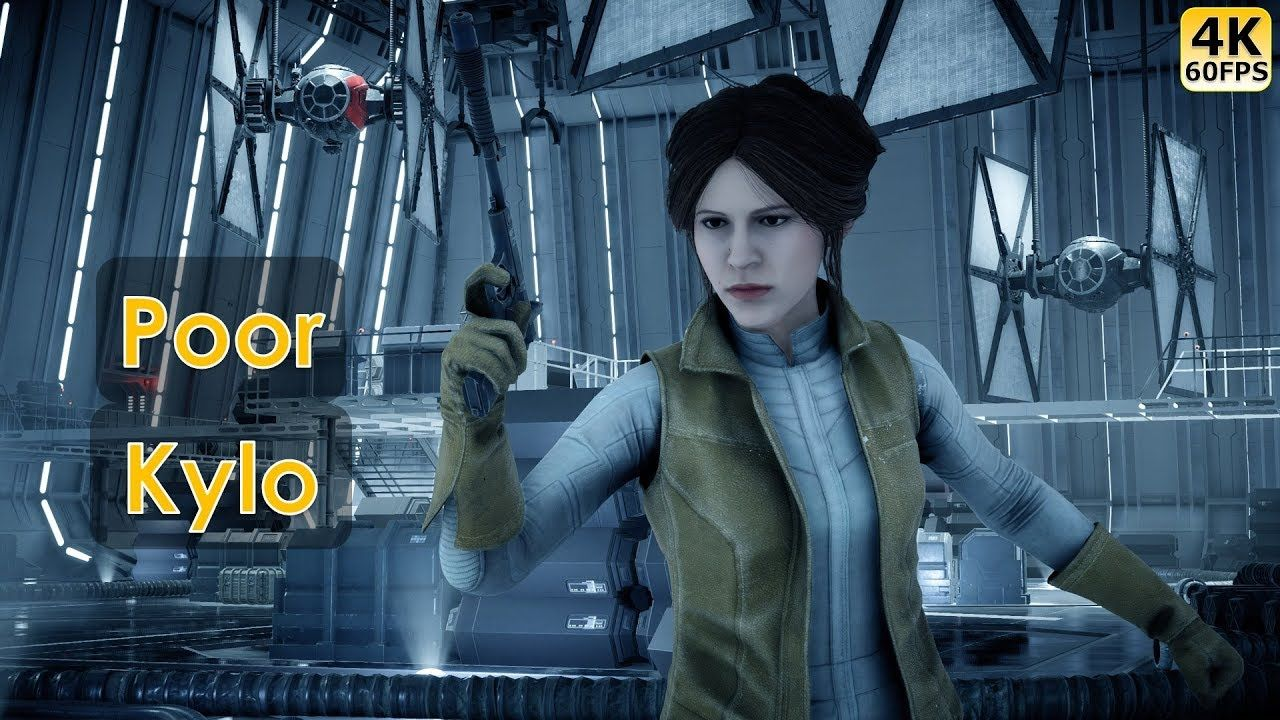 Some Star Wars Battlefront 2 Gameplay With A Quick Little Leia Killstreak Which Was Rudely Ended By A Palpatine An Star Wars Battlefront Battlefront Leia