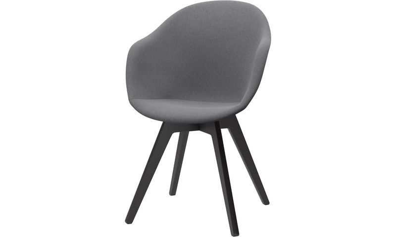 Dining Chairs Adelaide Chair Gray Fabric Color Moods In