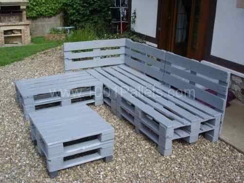 Muebles de palets dise o de stands pinterest palets - Mercadillo de muebles ...